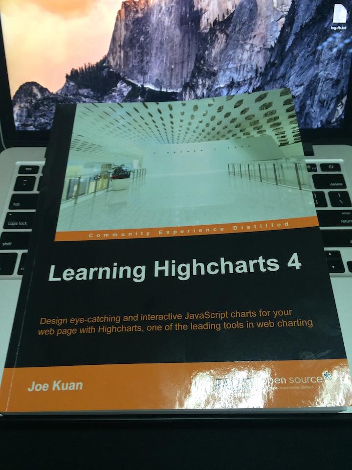 记《Learning Highcharts》的技术评审